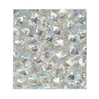 Shiny Crystals Notepad