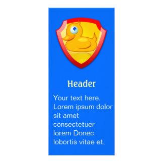 Shiny Defender Duck Rack Cards