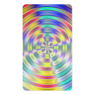 Shiny Disc Business Card