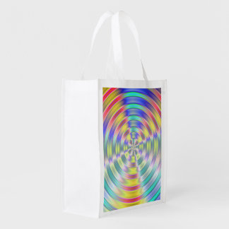 Shiny Disc Grocery Bags