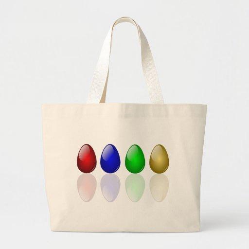 Shiny Easter Eggs Bag