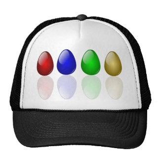 Shiny Easter Eggs Cap