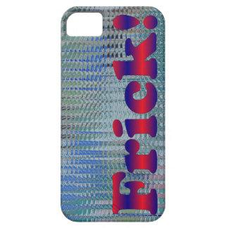 Shiny Funny Frick Slang Metallic iPhone 5 Cases