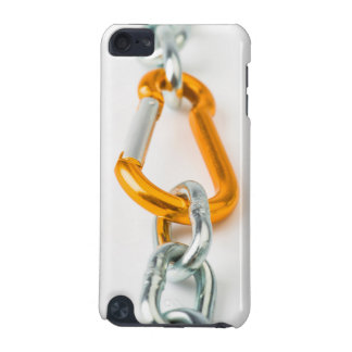 Shiny gold and silver chain clip iPod touch 5G cover