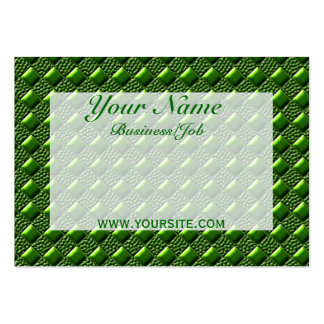 Shiny Green Business Cards