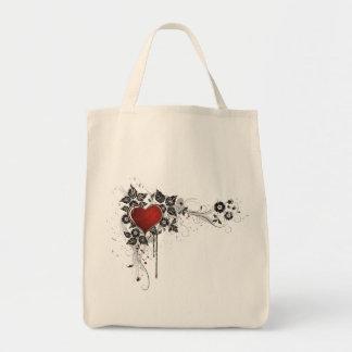 Shiny Heart, Leaves & Flowers - Original Bag
