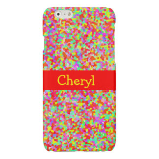 Shiny Hundreds & Thousands Multicolor Sprinkles iPhone 6 Plus Case