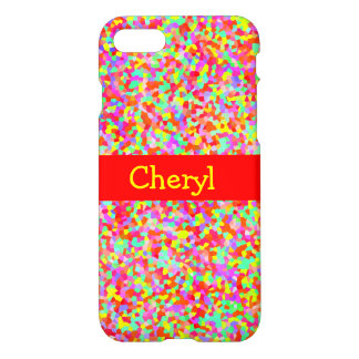 Shiny Hundreds & Thousands Multicolor Sprinkles iPhone 8/7 Case