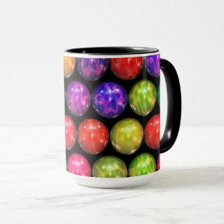 Shiny Marbles Coffee Mug by Julie Everhart