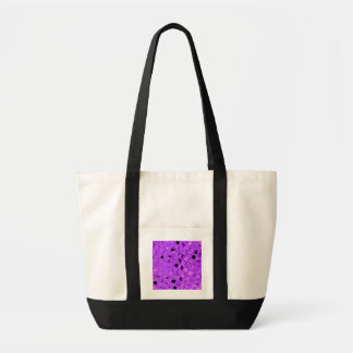 Shiny Metallic Amethyst Diamond Beach Fashion Impulse Tote Bag