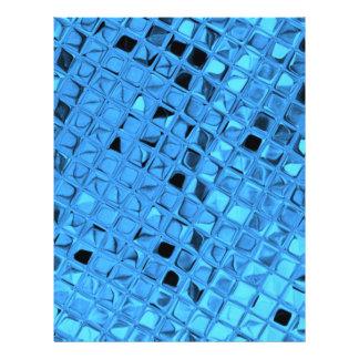 Shiny Metallic Girly Blue Diamond Sissy Sassy Custom Flyer