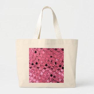 Shiny Metallic Girly Pink Diamond Sissy Sassy Bags