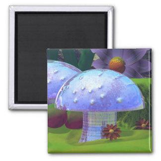 Shiny Mushroom Magnet