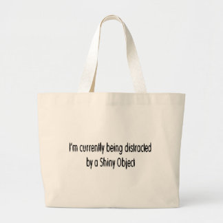 Shiny Object Jumbo Tote Bag