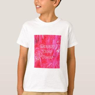 Shiny Pink Christmas Tree Tee Shirt