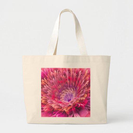 Shiny Pink Dahlia Bag