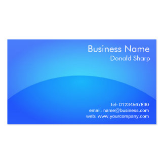 Shiny Plastic App Look Business Card Template