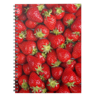 Shiny Red Strawberries Notebook