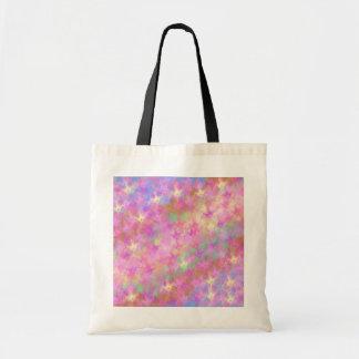 Shiny Shimmery Abstract Digital Art Bag