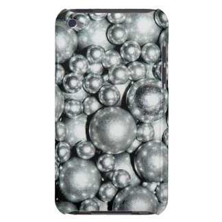 Shiny Silver Metal Beads Case-Mate iPod Touch Case