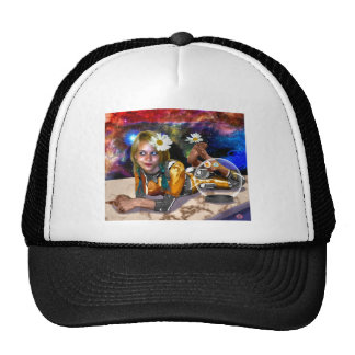 Shiny Spacey Whimsy Mesh Hat