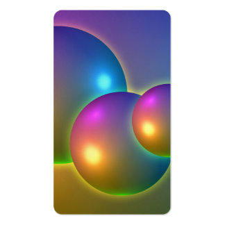Shiny Spheres Business Cards