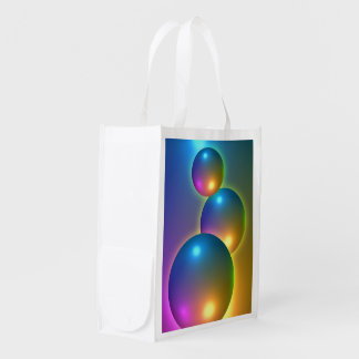 Shiny Spheres Grocery Bag