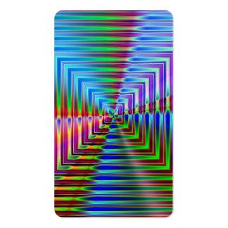 Shiny Squares Business Cards
