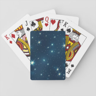 Shiny Stars Playing Cards