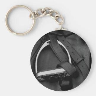 Shiny Stirrup Key Ring