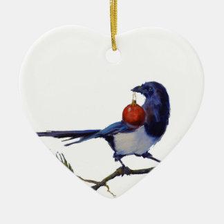 Shiny Things Ceramic Heart Decoration