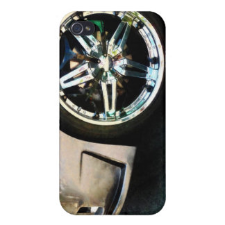 Shiny Wheels iPhone 4 Covers