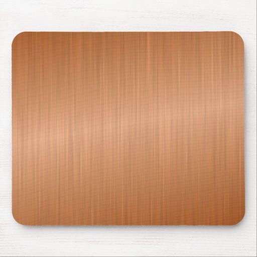 Shiny Wooden Background Mousepad
