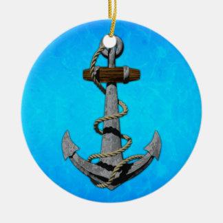 Ship Anchor Christmas Ornament