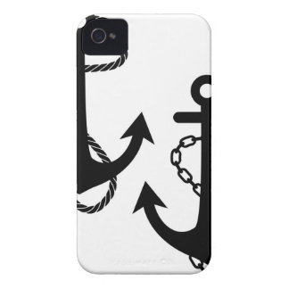 Ship Anchor iPhone 4 Case-Mate Case
