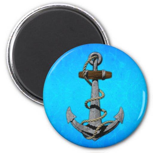 Ship Anchor Fridge Magnet