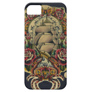 ship and crabs iPhone 5 covers