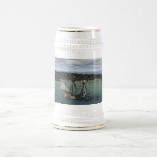 Ship Bay Beer Stein
