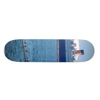 Ship Boat Queen Mary Ocean Liner 21.3 Cm Mini Skateboard Deck