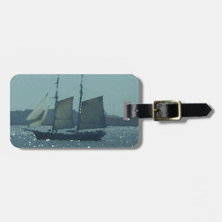 Ship Boat Sailing Vessel Art CricketDiane Luggage Tag