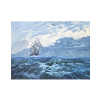 Ship Canvas Print