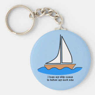 Ship Comes In Keychain