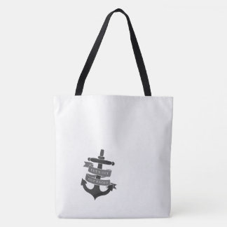 Ship Faced tote bag