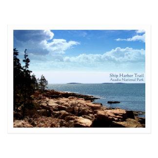 Ship Harbor Trail Postcard