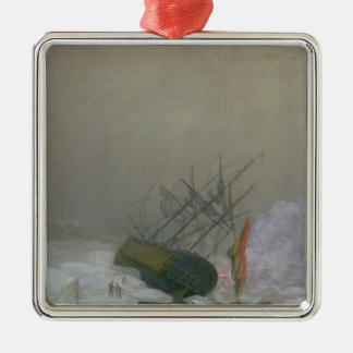 Ship in the Polar Sea, 12th December 1798 Christmas Ornament