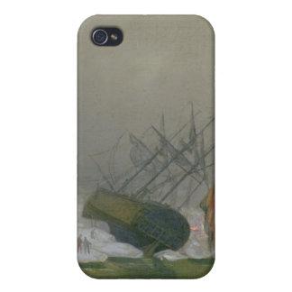 Ship in the Polar Sea, 12th December 1798 iPhone 4 Case
