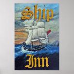Ship Inn Poster Print
