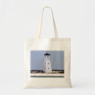 Ship Island lighthouse Tote Bag