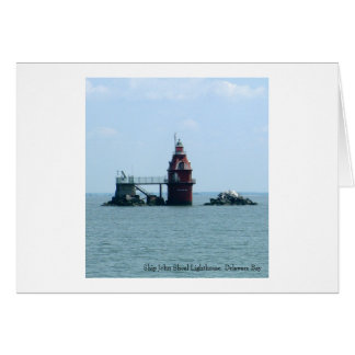 Ship John Shoal Lighthouse Card