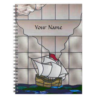Ship Journal Spiral Note Books